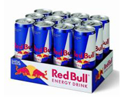 RED BULL ENERGY DRINK BEBIDA ENERGIZANTE 12 UNID PACK